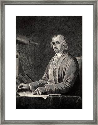 David Rittenhouse Framed Print by Universal History Archive/uig