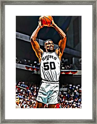 David Robinson Framed Print by Florian Rodarte