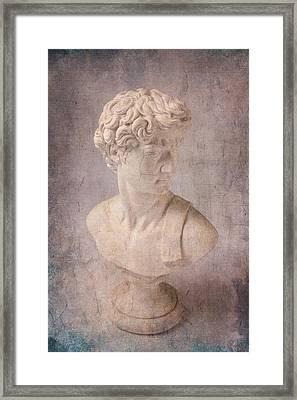 David Statue Framed Print by Garry Gay