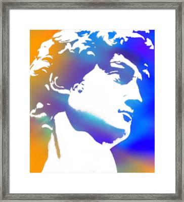 David Framed Print by Tony Rubino