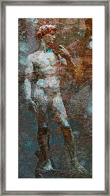 David Framed Print by Vijit Pillai