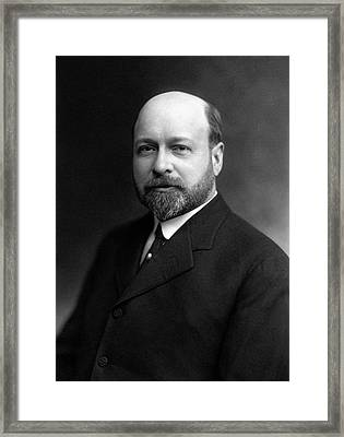 David Wesson Framed Print by Williams Haynes Portrait Collection, Chemists� Club Archives/chemical Heritage Foundation