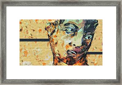 David Who Framed Print
