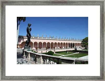 David's Beautiful Gardenview Framed Print by Christiane Schulze Art And Photography