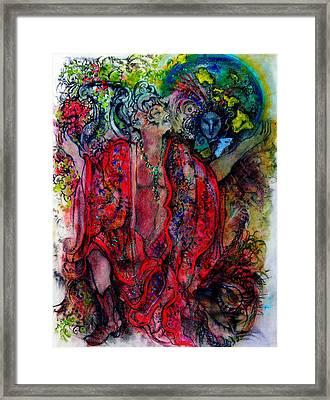 David's Dream Framed Print