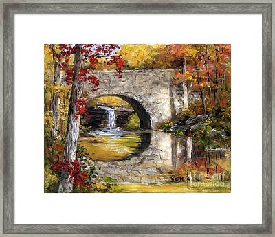 Davies Bridge November Framed Print