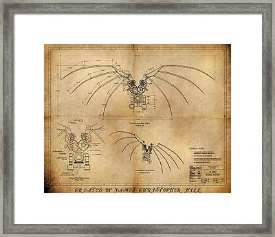 Davinci's Wings Framed Print by James Christopher Hill