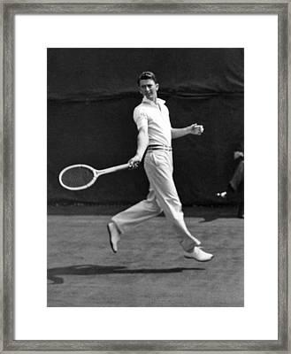 Davis Cup Play Framed Print