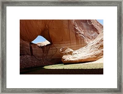 Davis Gulch Framed Print by Julie Niemela