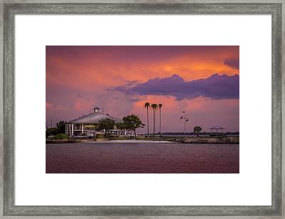 Davis Island Yacht Club Framed Print by Marvin Spates