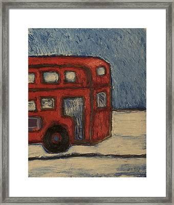 Davis Unitran Bus Framed Print