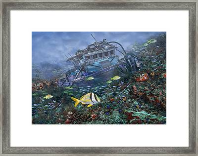 Davy Jones' Locker Framed Print