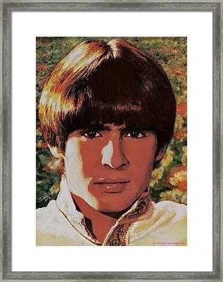 Davy Jones Framed Print
