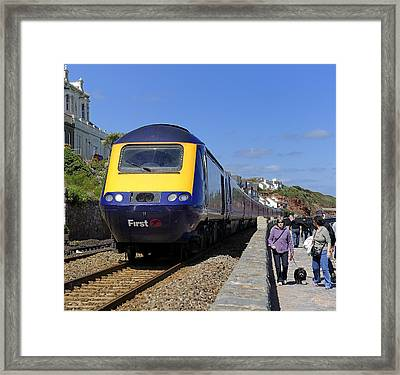 Dawlish Sea Front Framed Print by Craig Yates