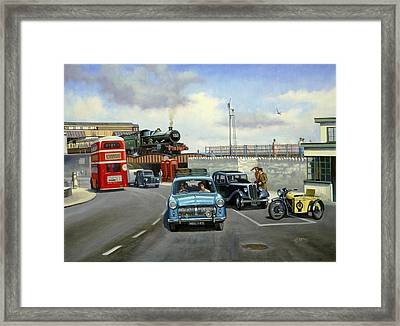 Dawlish Summer. Framed Print by Mike  Jeffries