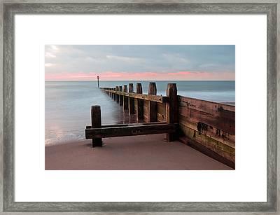 Dawlish Warren At Dawn Framed Print by Pete Hemington