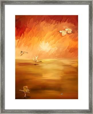 Dawn Framed Print by Angela A Stanton