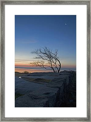 Dawn At Fort Phoenix Framed Print