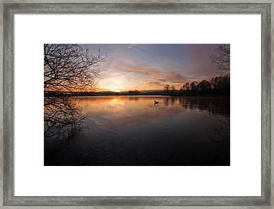Dawn At Haysden Framed Print