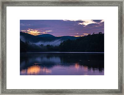 Dawn At Julian Price Lake Framed Print by Serge Skiba