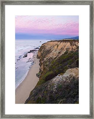 Dawn At Miramontes Point Framed Print by Adam Pender