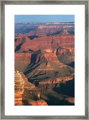 Dawn At The Grand Canyon Framed Print by Greg Matchick