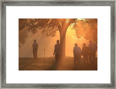 Framed Print featuring the photograph Dawn At The Pga by Kate Purdy