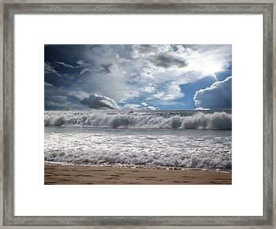 Dawn Framed Print by Athala Carole Bruckner