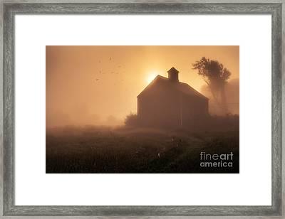 Dawn Breaks Framed Print by Edward Fielding