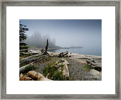 Dawn Cove Framed Print