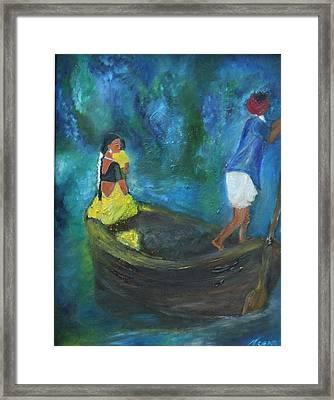 Dawn Crossing Framed Print by Neena Alapatt