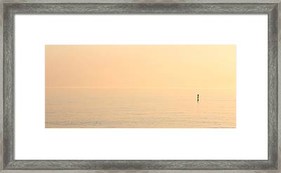 Dawn Horizon Framed Print