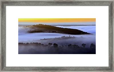 Dawn In Alentejo Framed Print by Babak Tafreshi