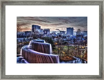 Dawn In Columbia Framed Print