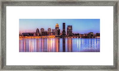 Dawn In Louisville Framed Print by Twenty Two North Photography