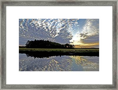 Dawn In Maine Framed Print