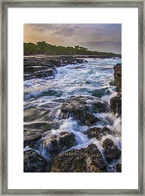 Dawn In Tamarindo Framed Print