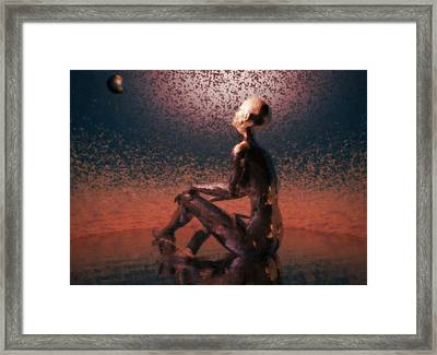 Framed Print featuring the digital art Dawn by John Alexander