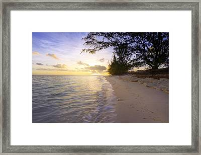 Dawn Of A New Day Framed Print by Chad Dutson
