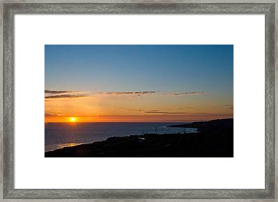 Framed Print featuring the photograph Dawn Of A New Day by Joseph Hollingsworth