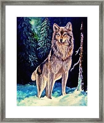 Framed Print featuring the painting Dawn Of A New Day Original Painting Forsale by  Nadine Johnston