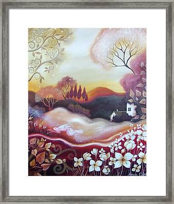 Dawn Of Autumn Framed Print by Amanda Clark