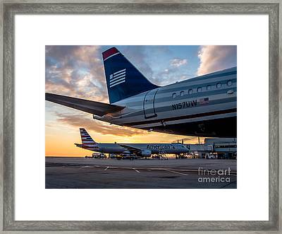 Dawn Of Change Framed Print