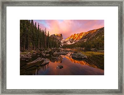 Dawn Of Dreams Framed Print by Dustin  LeFevre