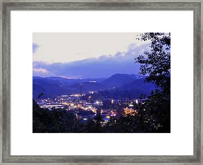 Dawn Of Gatlinburg Framed Print