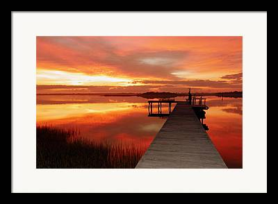 Reflective Waters Framed Prints