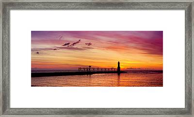 Dawn Of Promise Framed Print by Bill Pevlor