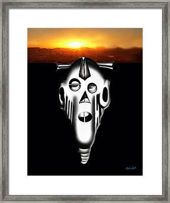 Dawn Of The Bakota Framed Print