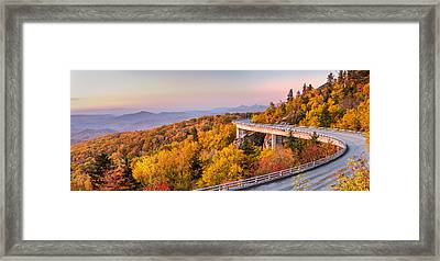 Dawn On The Blue Ridge Parkway Framed Print by Pierre Leclerc Photography