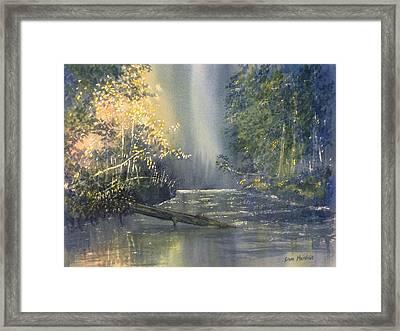 Dawn On The Derwent Framed Print